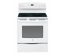 GE JB650DFWW 30  White Freestanding Electric Range 5 Elements NIB