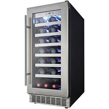 Danby Silhouette 15  Built In 28 Bottle Wine Cooler DWC031D1BSSPR