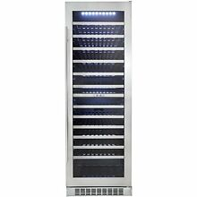 Danby DWC140D1BSSPR 24  Stainless Built in Wine Cooler T 2 NOB  13655