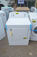 Amana NED4655EW 29  White Front Load Electric Dryer NOB  19404 T2 CLW