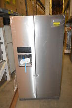 KitchenAid KRSF505ESS 36  Stainless Side by Side Refrigerator NOB  19426