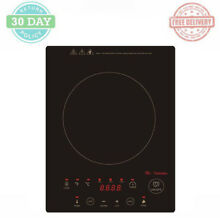 Built in Countertop Induction Cooktop 1300 W Micro crystal Black Ceramic Plate