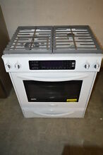 KitchenAid KGSS907SWH 30  White Slide In Gas Range NOB  19680 T2 CLW
