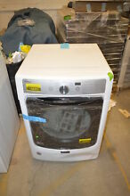 Maytag MED5500FW 27  White Front Load Electric Dryer NOB  19693 CLW