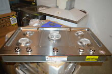 KitchenAid KCGS556ESS 36  Stainless Built In Gas Cooktop NOB  19793