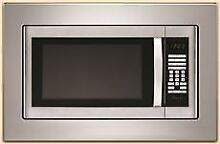 WHIRLPOOL  1 6 CU  FT  COUNTERTOP MICROWAVE TRIM KIT  STAINLESS STEEL  27 IN Wh
