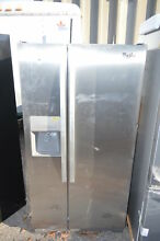 Whirlpool WRS322FDAM 33  Stainless Side by Side Refrigerator NOB  19968 T2