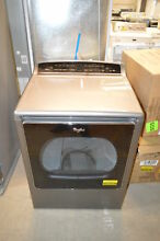 Whirlpool WED8500DC 28  Chrome Shadow Front Load HE Electric Dryer NOB  20076 T2