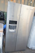 KitchenAid KRSC503ESS 36  Stainless Side by Side Refrigerator CD NOB  20116