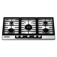 KitchenAid KFGU766VSS 36  Stainless Gas Cooktop NOB  21312 T2