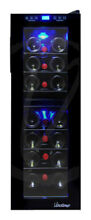 Vinotemp   21 Bottle Wine Cooler   Black