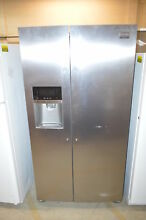 Frigidaire FGHS2655PF 36  Stainless Side by Side Refrigerator  21623 USED