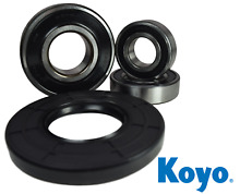 Premium GE Front Load Washer Bearing   Seal Kit W10253866  W10253856 Koyo Japan