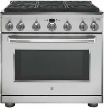 GE Cafe Series 36  Dual Fuel Professional Range with 6 Burners C2Y366SELSS