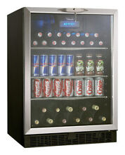 Danby   Silhouette 5 3 Cu  Ft  Beverage Center   Black Stainless Steel