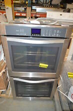 Whirlpool WOD51EC7AS 27  Stainless Double Electric Wall Oven NOB  22072
