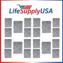 20 Replacement Range Hood Charcoal Filters for Whirlpool W10386873  UXT5236BDS