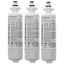 Kenmore 46 9690 Refrigerator Water Filter ADQ36006102 3 Pack