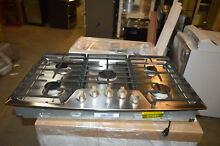 LG Studio LSCG367ST 36  Stainless UltraHeat Gas Cooktop NOB  22081