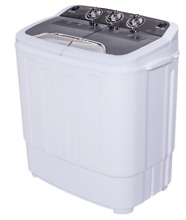 Portable Compact Mini Twin Tub Washer Spin Dryer Apartment RV Mobile Home 13lbs
