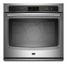 Maytag MEW9527AS 27  Stainless Electric Single Wall Oven NIB  9510 T2
