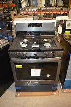 Whirlpool WFG525S0HV 30  Black Stainless Gas Range NOB T2  22626 CLW
