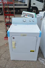 Maytag MEDC215EW 29  White Front Load Electric Dryer NOB  19401 T2 CLW
