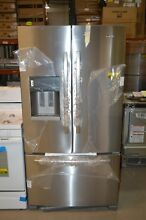 Amana AFI2539ERM 36  Stainless French Door Refrigerator NOB T2  22798