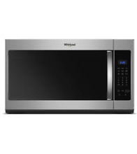 Whirlpool WMH31017HZ 30  Stainless Over The Range Microwave NOB T2  22281 CLW