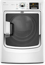Maytag Maxima EcoConserve MED7000XW 27  White Electric Steam Dryer NIB  4097 CLW