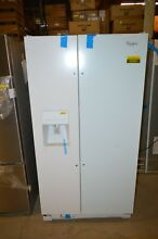 Whirlpool WRS325FDAW 36  White Side by Side Refrigerator NOB T2  22807