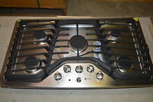 GE PGP953SETS 36  Stainless Built In Gas Cooktop w 5 Burners