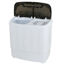 13lbs Quality Twin Tub Washing Machine Washer Spin Dryer Portable Mini Compact
