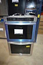 KitchenAid KEBS207BSS  27  Stainless Double Wall Oven Convection USED  242 CLW