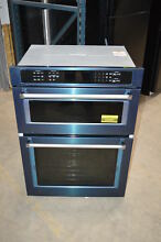 KitchenAid KOCE500EBS 30  Black Stainless Combination Wall Oven NOB  23091