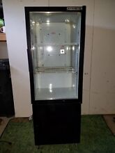 Beverage Air UR 30G  Refrigerator Black   glass  Includes rolling storage box