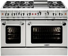 Capital GSCR486GN 48 Inch Pro Style Gas Range