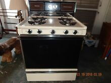Almond Kenmore Gas Range with Continuous Cleaning Oven