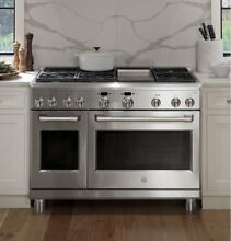 GE Cafe Series 48  Dual Fuel Professional Range with 6 Burners and Griddle