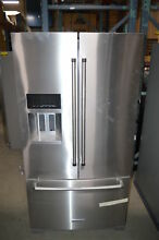 KitchenAid KRFF707ESS 36  Stainless French Door Refrigerator NOB T2  23474