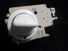 GE Washer Timer Quiet Cycle Select  175D4232P024 With Knob White and Silver