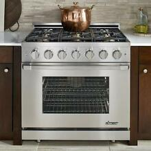 Dacor RNRP36GCNG Pro Style 36  Self Cleaning Gas Range