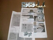 Hardware Installation Kit  Frigidaire Front Load Washer Dryer Pedestal 137148200