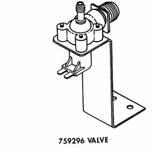Kenmore  WP759296 Refrigerator Water Inlet Valve Assembly for KENMORE