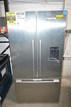 Fisher Paykel RF201ADUSX5  36  Stainless French Door Refrigerator NOB  23525