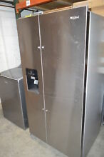 Whirlpool WRS325SDHZ 36  Stainless Side by Side Refrigerator NOB  23300