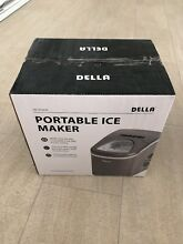 Della Portable Ice Maker W Selectable Cube Sizes  Yield Up To 26 excellent condi