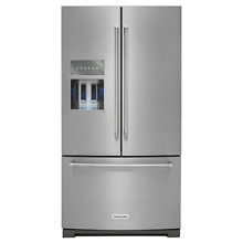 KitchenAid KRFF305ESS 36  Stainless French Door Refrigerator NOB T 2  15293 CLW