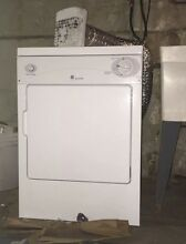 GE Spacemaker DSKP333ECWW white Electric portable Dryer