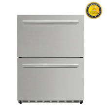 24in Under counter built in refrigerator ventilated coolin HRF2401U LYCAN